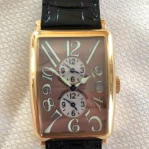 Franck Muller Yellow gold Automatic 1200 MB pre-owned UAE, Dubai