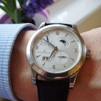 Jaeger-LeCoultre Master Eight Days Acero 41.5mm Plata