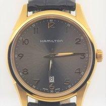 Hamilton Jazzmaster Thinline Steel 42mm Grey Arabic numerals United States of America, Alabama, Oranjestad