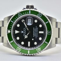 Rolex 16610LV Aço 2005 Submariner Date 40mm novo