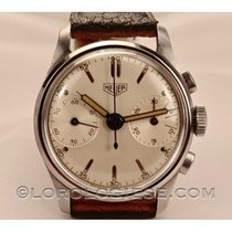 Heuer Steel 32mm Chronograph pre-owned