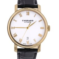 Chopard Yellow gold Automatic White Roman numerals 40mm pre-owned Classic