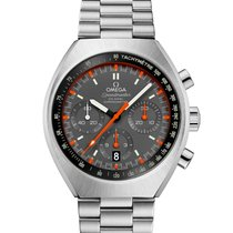 Omega Speedmaster Mark II Steel 42.4mm Grey No numerals United States of America, New York, New York