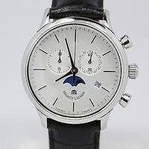 Maurice Lacroix Les Classiques Phases de Lune Steel 40mm White United States of America, Illinois, BUFFALO GROVE
