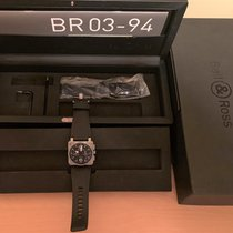 Bell & Ross BR03-94 Steel 2014 BR 03-94 Chronographe 42mm pre-owned United States of America, Georgia, smyrna