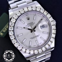 Rolex Datejust II Steel 41mm Silver United States of America, New York, NEW YORK