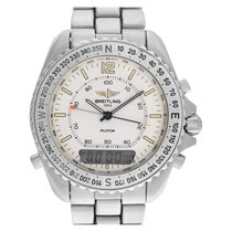 Breitling Pluton Steel 40mm White No numerals United States of America, Florida, Surfside