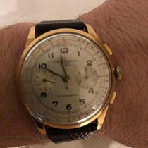 Chronographe Suisse Cie Rose gold 39mm Manual winding pre-owned