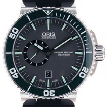 Oris Aquis Small Second new 2014 Automatic Watch with original box and original papers 743 7673 4159