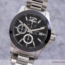 Longines Conquest Zeljezo 41mm Crn