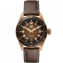 TAG Heuer Bronze Automatic Brown 42mm new Autavia