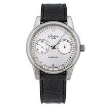 Glashütte Original Senator Hand Date new Automatic Watch with original box and original papers 1-39-58-02-02-04 or 39-58-02-02-04