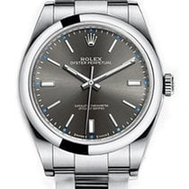 Rolex Oyster Perpetual 39 Steel 39mm Grey No numerals United States of America, California, Los Angeles
