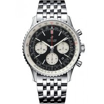 Breitling Navitimer 1 B01 Chronograph 43 pre-owned 43mm Black Date Steel