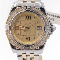 Breitling Cockpit Lady pre-owned 35mm Gold/Steel