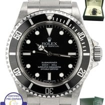 Rolex 2012 ENGRAVED UNPOLISHED Rolex Submariner 4-Line 40mm...