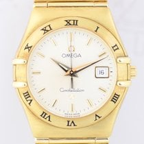 Omega Constellation 18K Gold Klassiker Goldband B+P Klassiker...