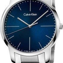 ck Calvin Klein Ατσάλι 43mm Χαλαζίας K2G2G1ZN καινούριο
