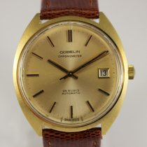 Gübelin Or jaune 35.5mm Remontage automatique occasion