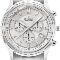 Charmex Ατσάλι 42mm Χαλαζίας Charmex Hockenheim 2845 Qz mens watch καινούριο
