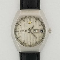 Enicar Steel Automatic Silver 40.5mm pre-owned