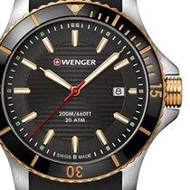 Wenger Ocel 43mm Quartz 01.0641.126 nové