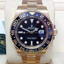 Rolex 116718LN Or jaune 2017 GMT-Master II 40mm occasion