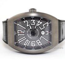 Franck Muller Titanium Automatic Grey Roman numerals 44mm new Vanguard