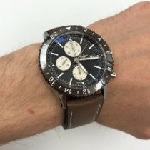 Breitling Chronoliner Steel 46mm Bronze Arabic numerals United States of America, New York, NYC