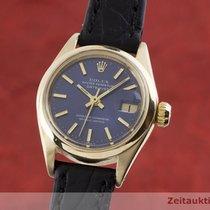 Rolex Oyster Perpetual Lady Date 26mm Niebieski