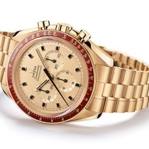 Omega Oro amarillo Cuerda manual Amarillo Sin cifras 42mm nuevo Speedmaster Professional Moonwatch