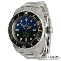 Rolex Sea-Dweller Deepsea Staal 44mm Blauw Geen cijfers Nederland, 's Hertogenbosch