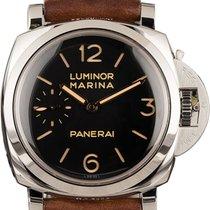 Panerai Luminor Marina 1950 3 Days Steel 47mm Black Arabic numerals United States of America, New York, New York