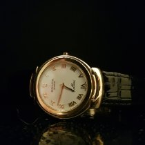 Rolex Cellini Gulguld 33mm Vit Romerska Sverige, Jordbro