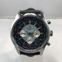 Breitling Transocean Chronograph Unitime nouveau 2015 Remontage automatique Chronographe Montre avec coffret d'origine et papiers d'origine AB0510U4/BB62/441X
