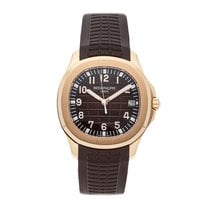 Patek Philippe Aquanaut Rose gold 40mm Brown Arabic numerals United States of America, Pennsylvania, Bala Cynwyd