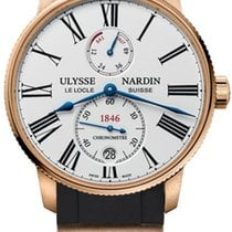 Ulysse Nardin Marine Torpilleur Rose gold 42mm White United States of America, New York, Airmont