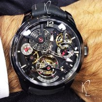 Greubel Forsey Double Tourbillon 30° Titanium 47.50mm Transparent Arabic numerals