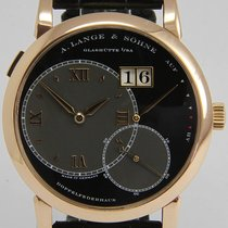 A. Lange & Söhne Red gold Manual winding 41.9mm pre-owned Grand Lange 1