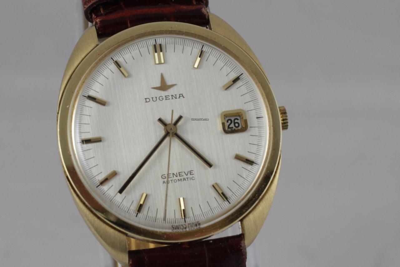 Dugena Geneve Automatic 14 Karat 585 Er Gold S Fr 1000