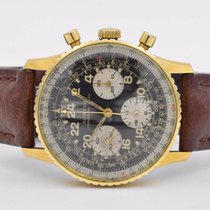 Ollech & Wajs Aviation Chronograph Suisse 1957 Plated Gold