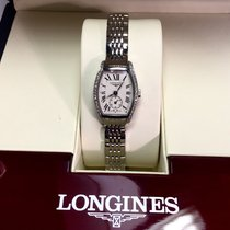 Longines Evidenza Stainless Steel Ladies Watch W/ Diamond...