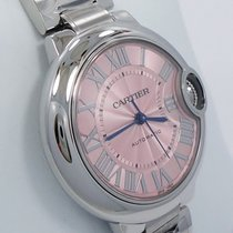 Cartier Ballon Bleu W6920100 33mm Pink Dial Automatic Ladies...