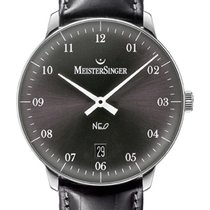 Meistersinger NEO – NE207, 36mm Swiss men's & ladies' watch...