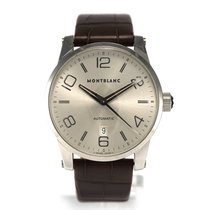 Montblanc Timewalker Steel 42mm Silver Arabic numerals