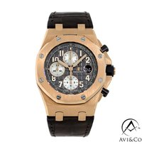 Audemars Piguet Royal Oak Offshore Chronograph Roségold 42mm Grau Arabisch
