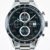 TAG Heuer Carrera Calibre 1887 pre-owned 43.8mm Steel