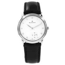 Blancpain pre-owned Automatic 34mm White Sapphire Glass