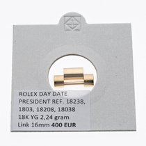 Rolex PRESIDENT DAY DATE LINK GLIED 18K YELLOW GOLD GELB 16,2MM