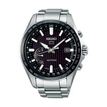 Seiko Steel 45.4mm Chronograph SSE161J1 new